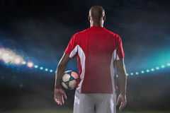 Professional player Royalty Free Stock Photography