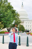 Professional pointing at you in Washington DC Royalty Free Stock Images