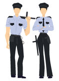 professional police officers. Royalty Free Stock Photos