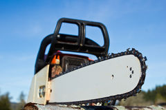 Professional Power Chainsaw Stock Photos