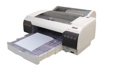 Professional printing machine Royalty Free Stock Image