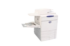 Professional printing machine. The image of a professional printing machine royalty free stock image