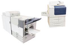 Professional printing machine Royalty Free Stock Photography