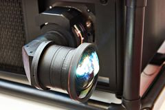 Professional projector lens royalty free stock images