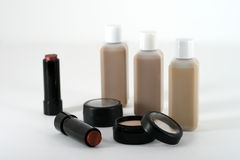 Professional quality make up and cosmetic products Stock Image
