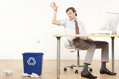 Professional Recycling Stock Photo