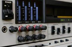 professional registreringsapparatvideo hjälpmedel för panel för administration för maskin för digital förlaga för kontrolldataapp Arkivfoto