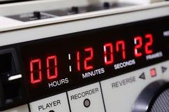 professional registreringsapparatvideo Time-kod panel royaltyfri fotografi