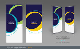 Professional Roll Up Concept 03 Stock Photography