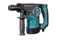 Professional rotary hammer Royalty Free Stock Photography