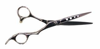 Professional scissors. On white background open Royalty Free Stock Photos