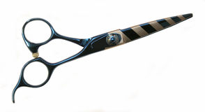 Professional scissors2. Professional scissors on white background closed Stock Images