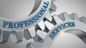 Professional services concept royalty free stock photo