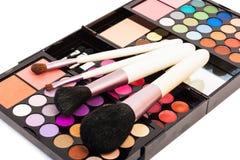 Professional set for make-up. stock image