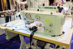 Professional sewing machine Royalty Free Stock Images