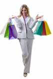 Professional shopper Royalty Free Stock Images