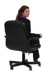 Professional sitting in a chair Stock Photos