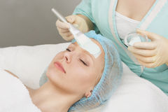 Professional skin care Stock Photos
