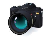 Professional SLR camera Stock Photo
