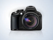 Professional SLR camera Stock Photography