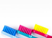 Professional soft toothbrushes Royalty Free Stock Image