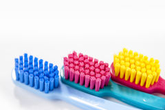 Professional soft toothbrushes Stock Photography