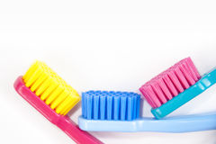 Professional soft toothbrushes Royalty Free Stock Photography
