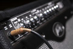 Professional sound equipment close-up Royalty Free Stock Images