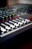 Professional sound mixer Stock Photography