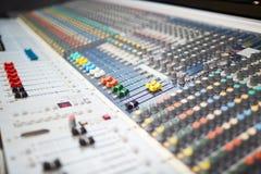 Professional soundboard Royalty Free Stock Photo