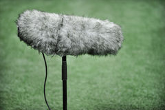 Professional sport microphone Royalty Free Stock Photo