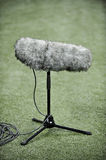 Professional sport microphone Stock Image