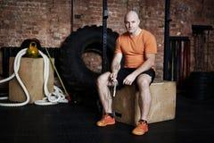 Professional sportsman Royalty Free Stock Photo
