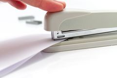 Professional stapler Royalty Free Stock Photos