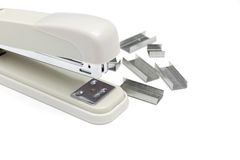 Professional stapler Royalty Free Stock Image