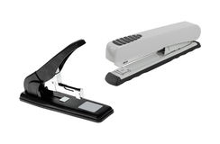 Professional staplers isolated Royalty Free Stock Photo