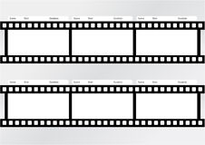 Professional of storyboard film strip template. Professional of film storyboard template for easy to present the process of story Stock Images