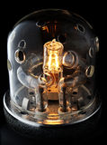 Professional studio flash bulb Royalty Free Stock Photos