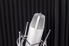 Professional studio microphone Stock Photography