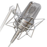 Professional studio microphone Royalty Free Stock Images
