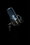 Professional studio microphone. Stock Photos