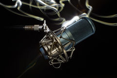 Professional studio microphone. Stock Image