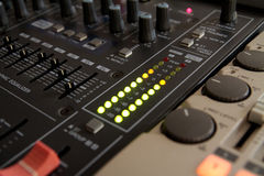 Professional Sound Mixer Royalty Free Stock Images