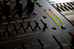 Professional Sound Mixer Stock Images