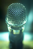 Professional studio recording concert microphone Royalty Free Stock Photography