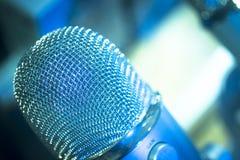 Professional studio recording concert microphone Royalty Free Stock Photo