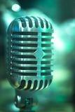 Professional studio recording retro vintage microphone Stock Photo