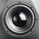 Professional studio subwoofer speaker Stock Image