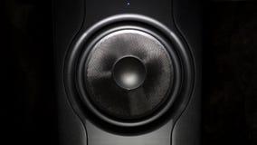 Professional studio subwoofer speaker isolated Royalty Free Stock Image