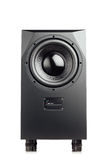Professional studio subwoofer speaker isolated Stock Image